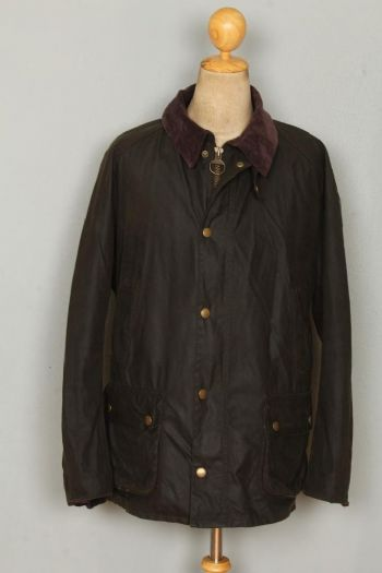 BARBOUR Ashby WAXED Jacket Olive Size XXL